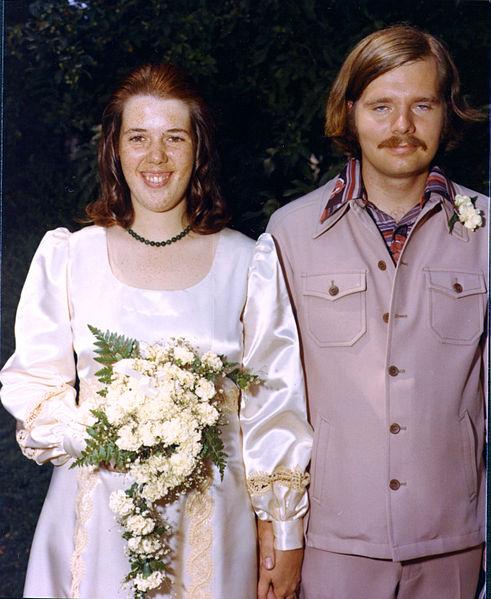 Braut 1970er Jahre
