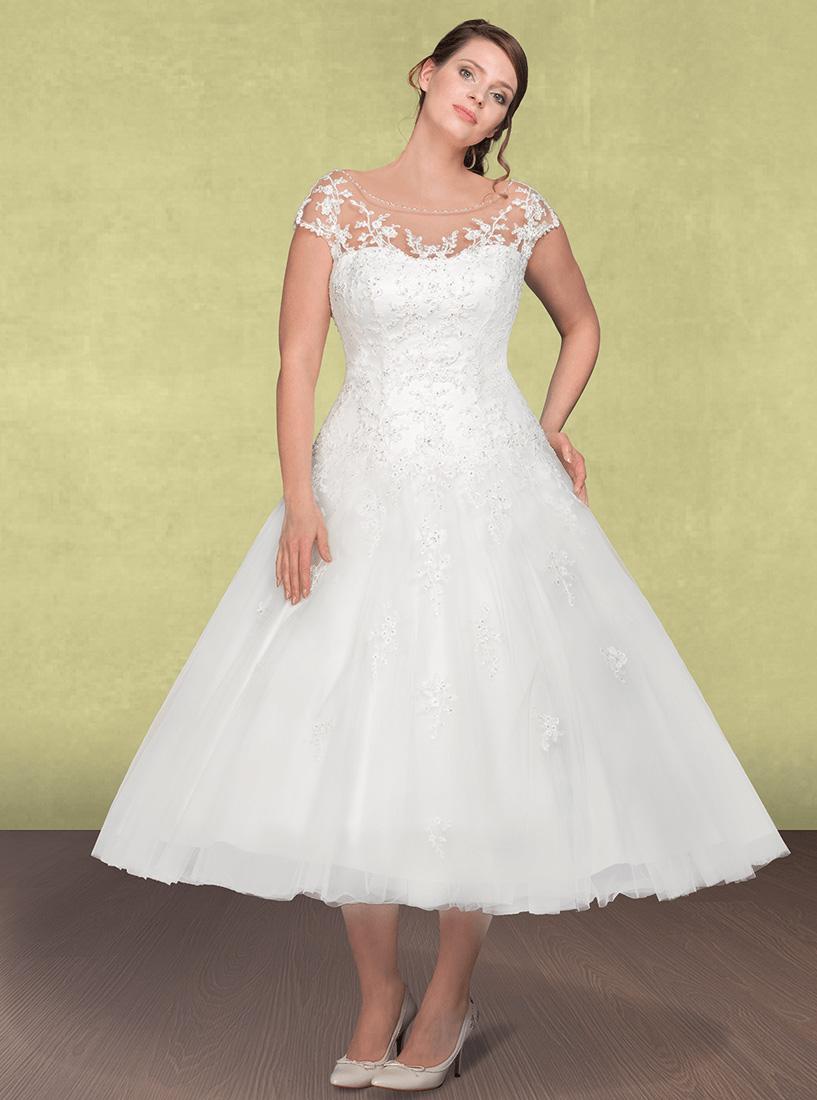 Petticoat Brautkleid